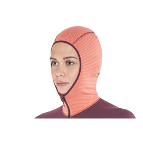 Haglöfs L.I.M Mid Hood Women Coral Pink/Aubergine